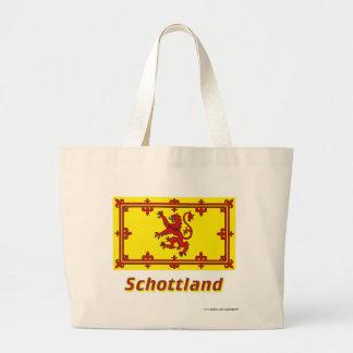 Mit Namen de Schottland Löwenflagge Bolsa Tela Grande