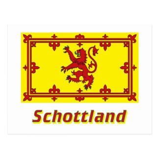 Mit Namen de Schottland Löwenflagge Postales