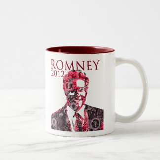 Mit Romney for President Two-Tone Coffee Mug