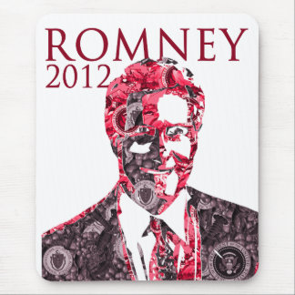 Mit Romney para el presidente Alfombrilla De Ratón