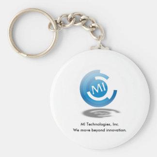 MIT Tilt Logo & Slogan Keychain