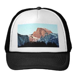 Mitad-bóveda, valle de Yosemite Gorras De Camionero