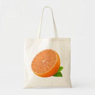 Mitad de la mandarina bolsa tela barata