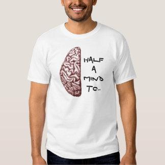 Mitad de la mente de una camiseta de la luz remeras