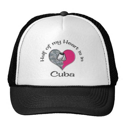 Mitad de mi corazón Cuba Gorro De Camionero
