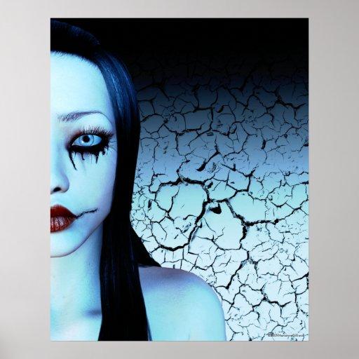 Mitad de mí poster del arte del gótico