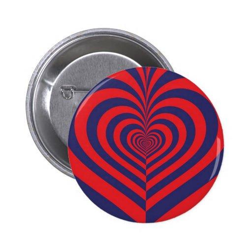 Mitad de un corazón #5 - botón pins