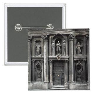 Mitad inferior de la fachada, 1637-41 pin cuadrado