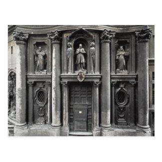 Mitad inferior de la fachada, 1637-41 tarjetas postales