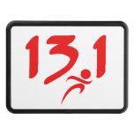 Mitad-maratón 13,1 del rojo