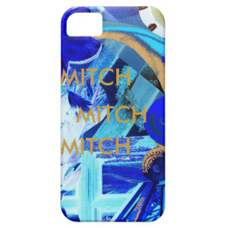 MITCH -CUSTOMIZE EASILY WITH TEXT iPhone 5 COVER