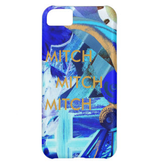 MITCH -CUSTOMIZE EASILY WITH TEXT iPhone 5C COVERS
