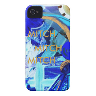MITCH -CUSTOMIZE EASILY WITH TEXT iPhone 4 COVER