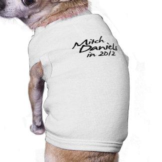 MITCH DANIELS 2012 Autograph Dog Clothes