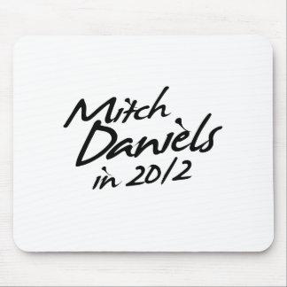 MITCH DANIELS 2012 Autograph Mouse Pad