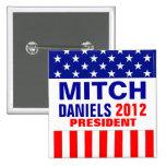 Mitch Daniels 2012 Buttons