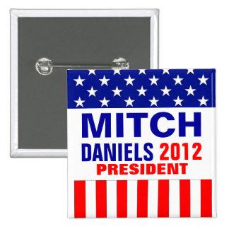 Mitch Daniels 2012 Pin