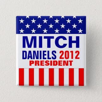 Mitch Daniels 2012 Pinback Button