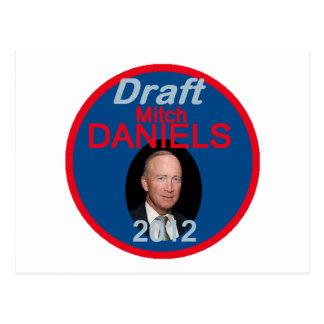 Mitch Daniels 2012 Postcard