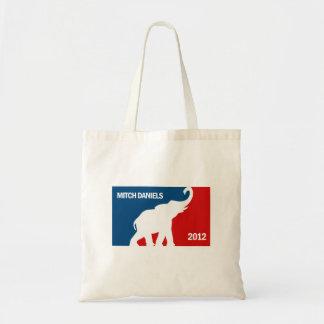 MITCH DANIELS 2012 (Pro) Budget Tote Bag