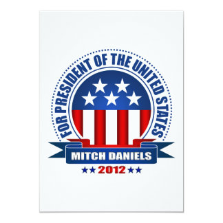 Mitch Daniels Card