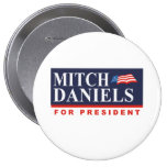 MITCH DANIELS FOR PRESIDENT (Banner) Pins