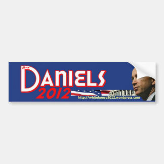 Mitch Daniels for President Bumper Sticker