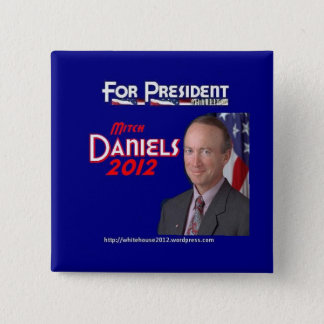 Mitch Daniels for President Button