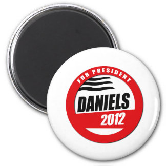 MITCH DANIELS FOR PRESIDENT BUTTON 2 INCH ROUND MAGNET