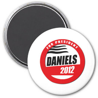 MITCH DANIELS FOR PRESIDENT BUTTON 3 INCH ROUND MAGNET