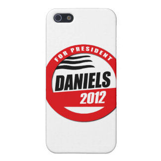 MITCH DANIELS FOR PRESIDENT BUTTON iPhone 5 CASE