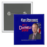 Mitch Daniels for President Pin