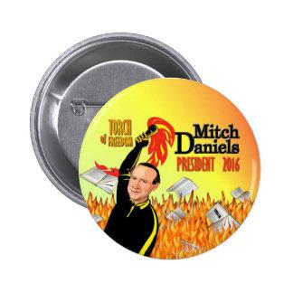 Mitch Daniels para el presidente 2016 Pins