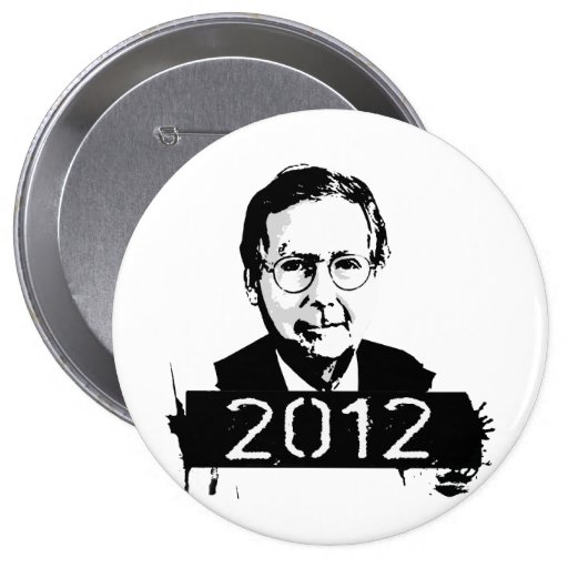 Mitch Mcconnell 2012 Pinback Button