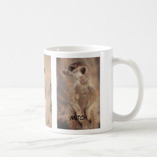 Mitch meerkat mug