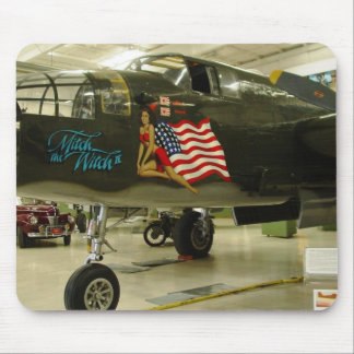 Mitch Witch WWII Aircraft Mouse Pads