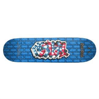 Mitchell 02 ~ Custom Graffiti Art Pro Skateboard