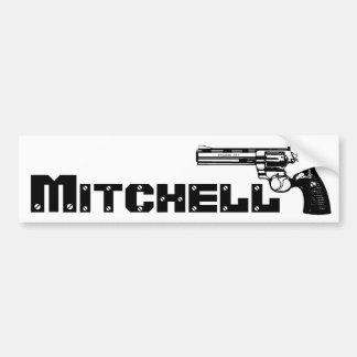 ¡Mitchell! Pegatina De Parachoque