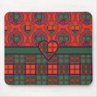 Mitchell clan Plaid Scottish kilt tartan Mouse Pad