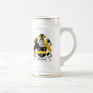 Mitchell Family Crest Beer Stein