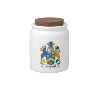 Mitchell Family Crest Candy Dish