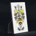 "Mitchell Family Crest Coat of Arms Plaque<br><div class=""desc"">Mitchell family crest and Scottish Mitchell coat of arms. For men with the Mitchell surname,  and for women with the Mitchell last name. Click &#39;Mitchell Family Crest&#39; to see all our designs featuring the Mitchell family name.</div>"