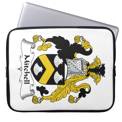 Mitchell Family Crest Computer Sleeves