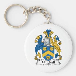 Mitchell Family Crest Keychain