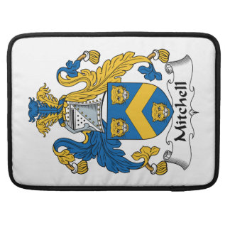 Mitchell Family Crest Sleeves For MacBook Pro