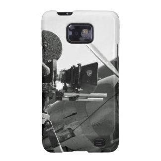 Mitchell movie camera DC-3 Galaxy S2 Cases