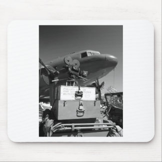 Mitchell movie camera DC-3 Mouse Pad