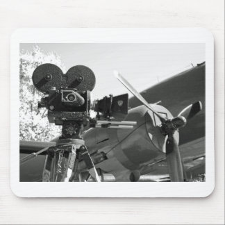 Mitchell movie camera DC-3 Mouse Pads