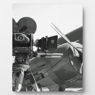 Mitchell movie camera DC-3 Plaques