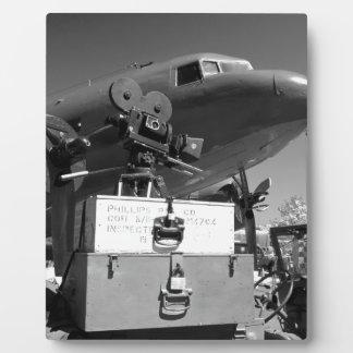Mitchell movie camera DC-3 Photo Plaque